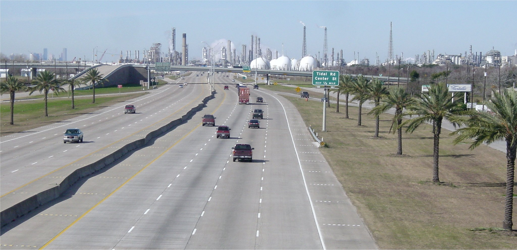 Shell Oil Refinery in Deer Park, TX